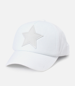 FAKE LEATHER STAR CAP