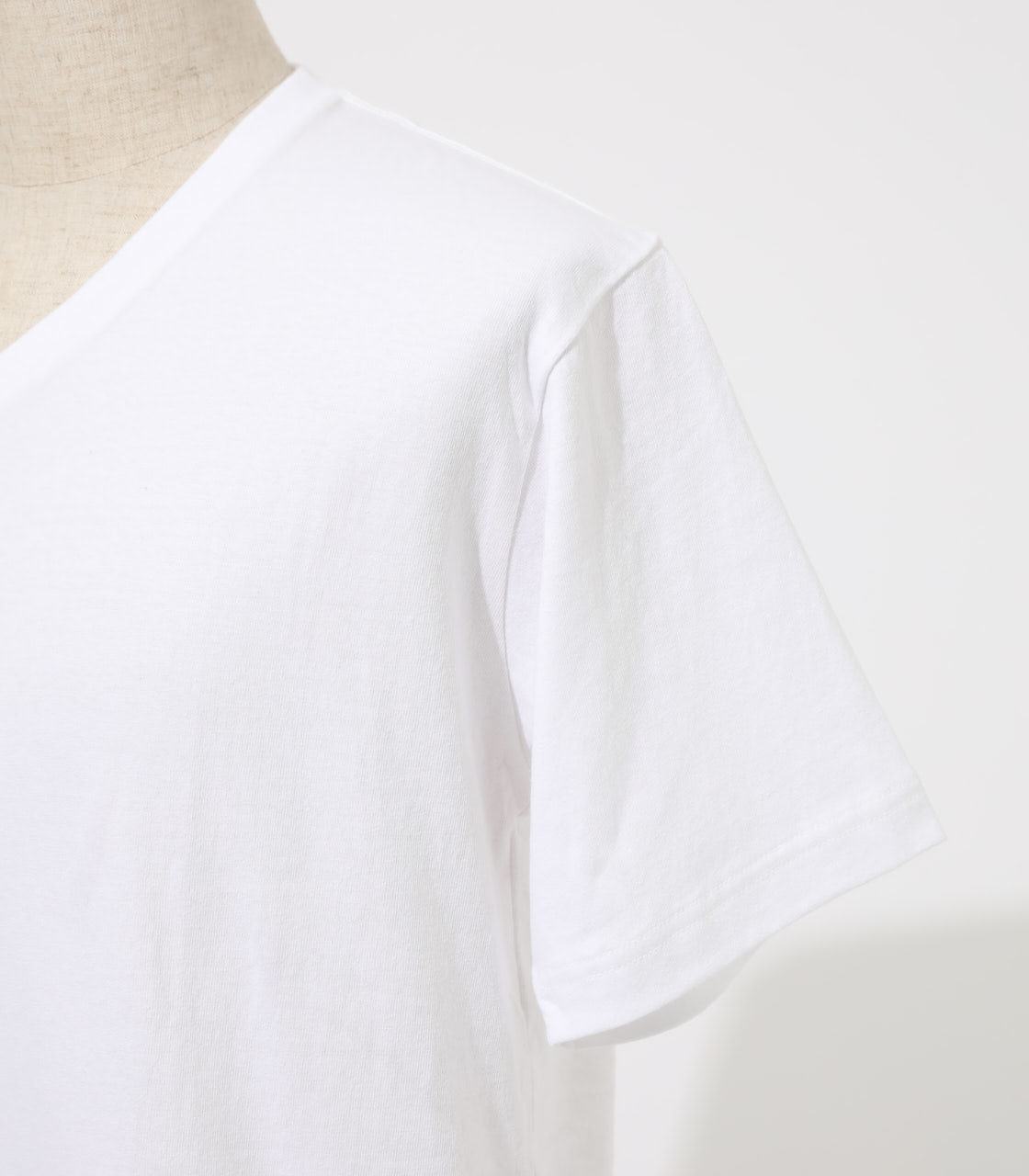 HEAVY WEIGHT Vネック T-SHIRT 詳細画像 WHT 6