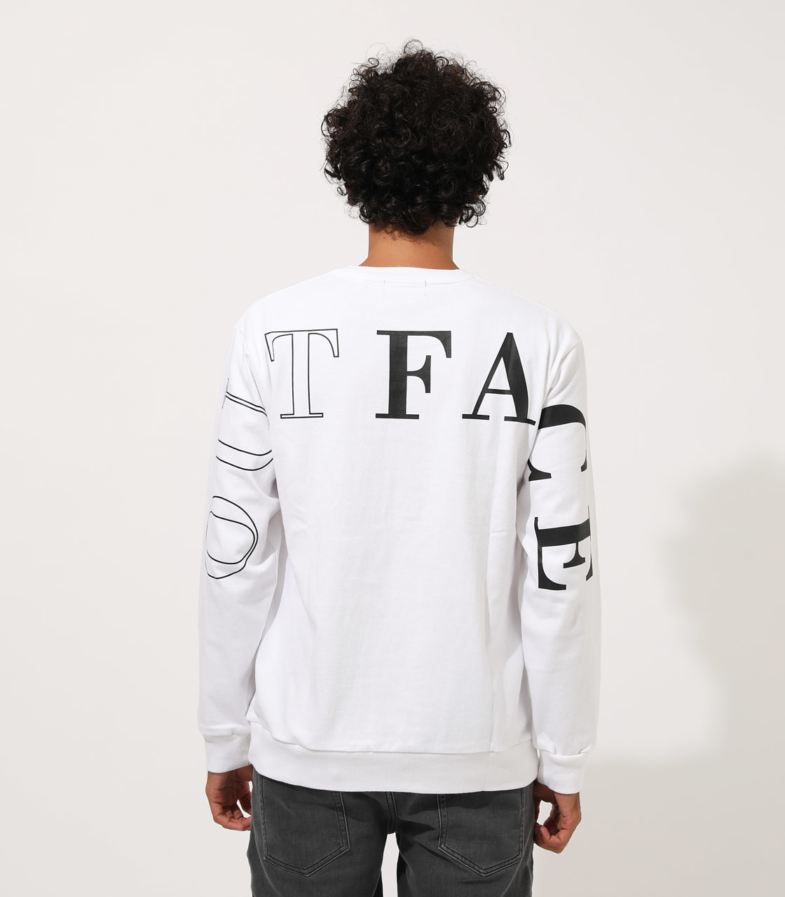 OUTFACE PRINT PULLOVER/アウトフェイスプリントプルオーバー 詳細画像 WHT 6