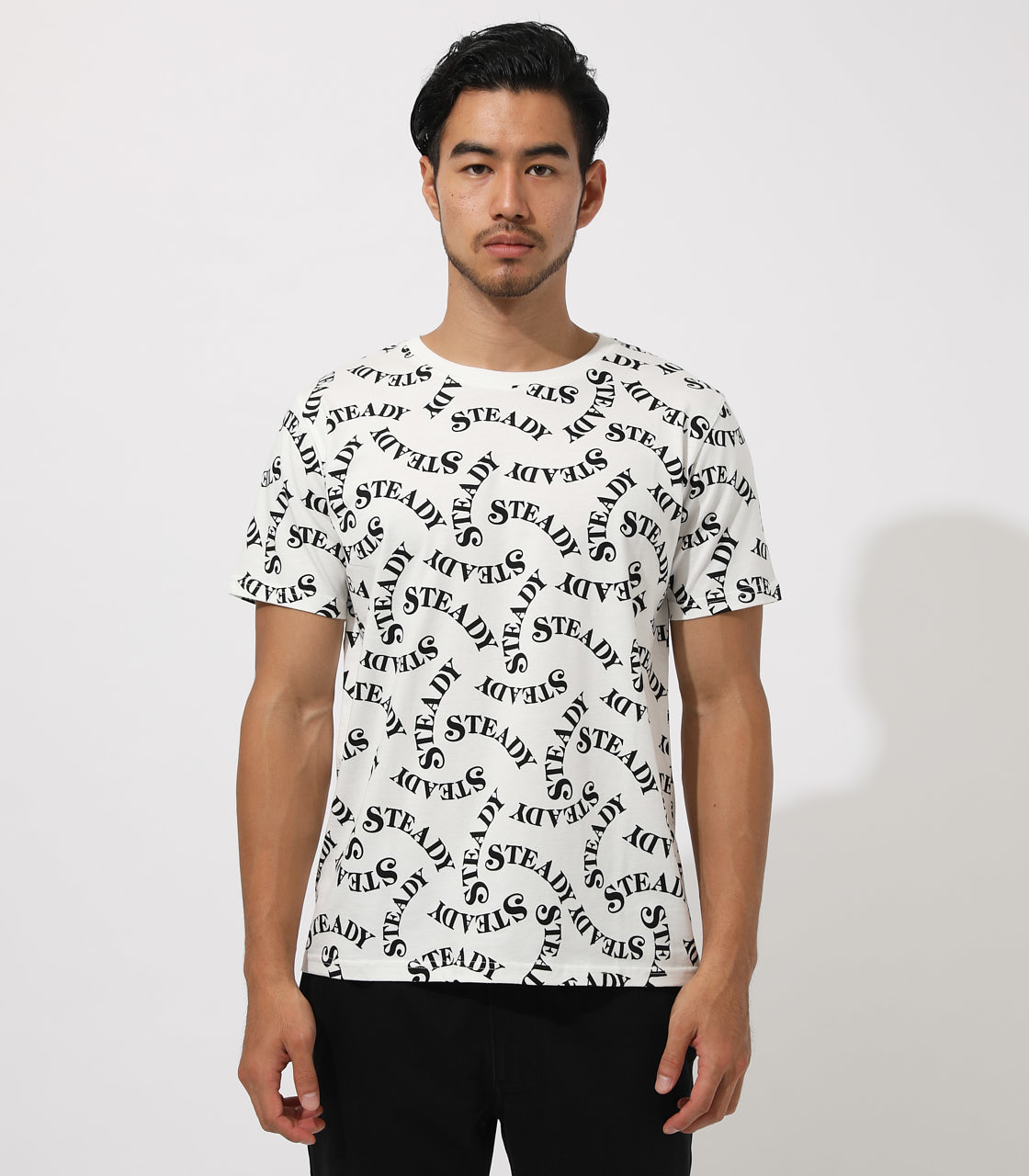 STEADY TOTAL HANDLE T-SHIRT 詳細画像 柄WHT 5