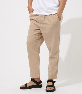 COTTON LINEN RELAX PANTS