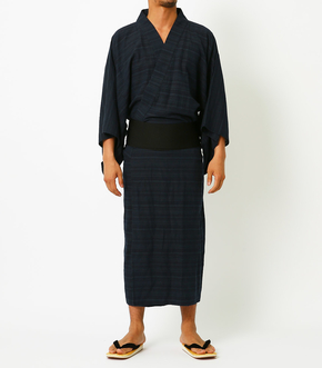 LINEN COTTON YUKATA
