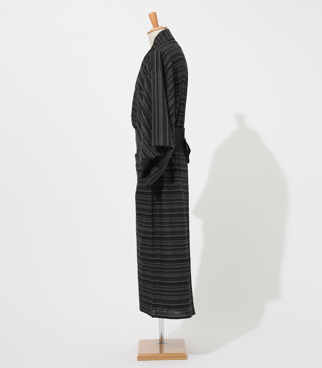 LINEN COTTON YUKATA 詳細画像 BLK 3