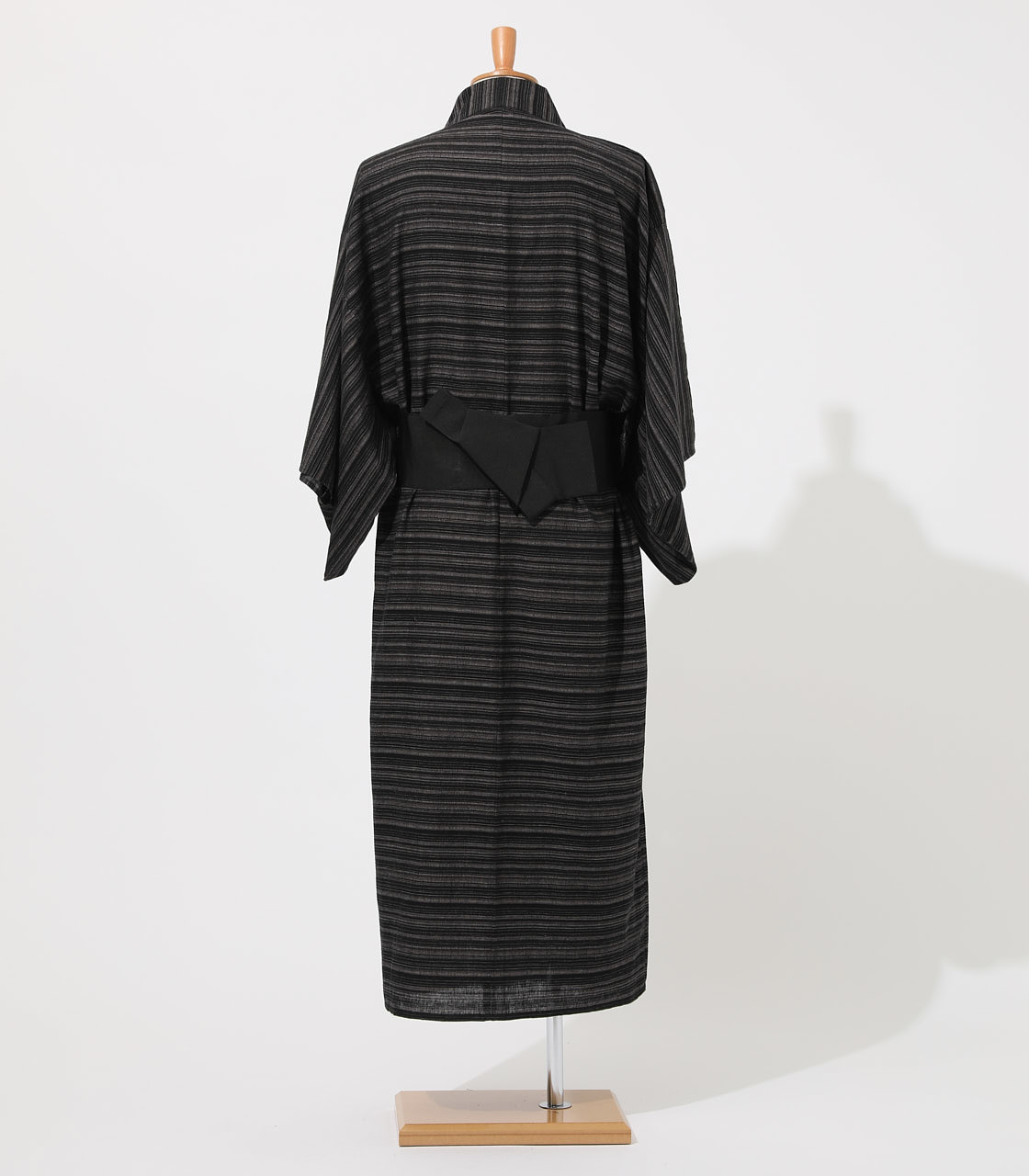 LINEN COTTON YUKATA 詳細画像 BLK 4