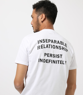 TWO OF MESSAGE TEE