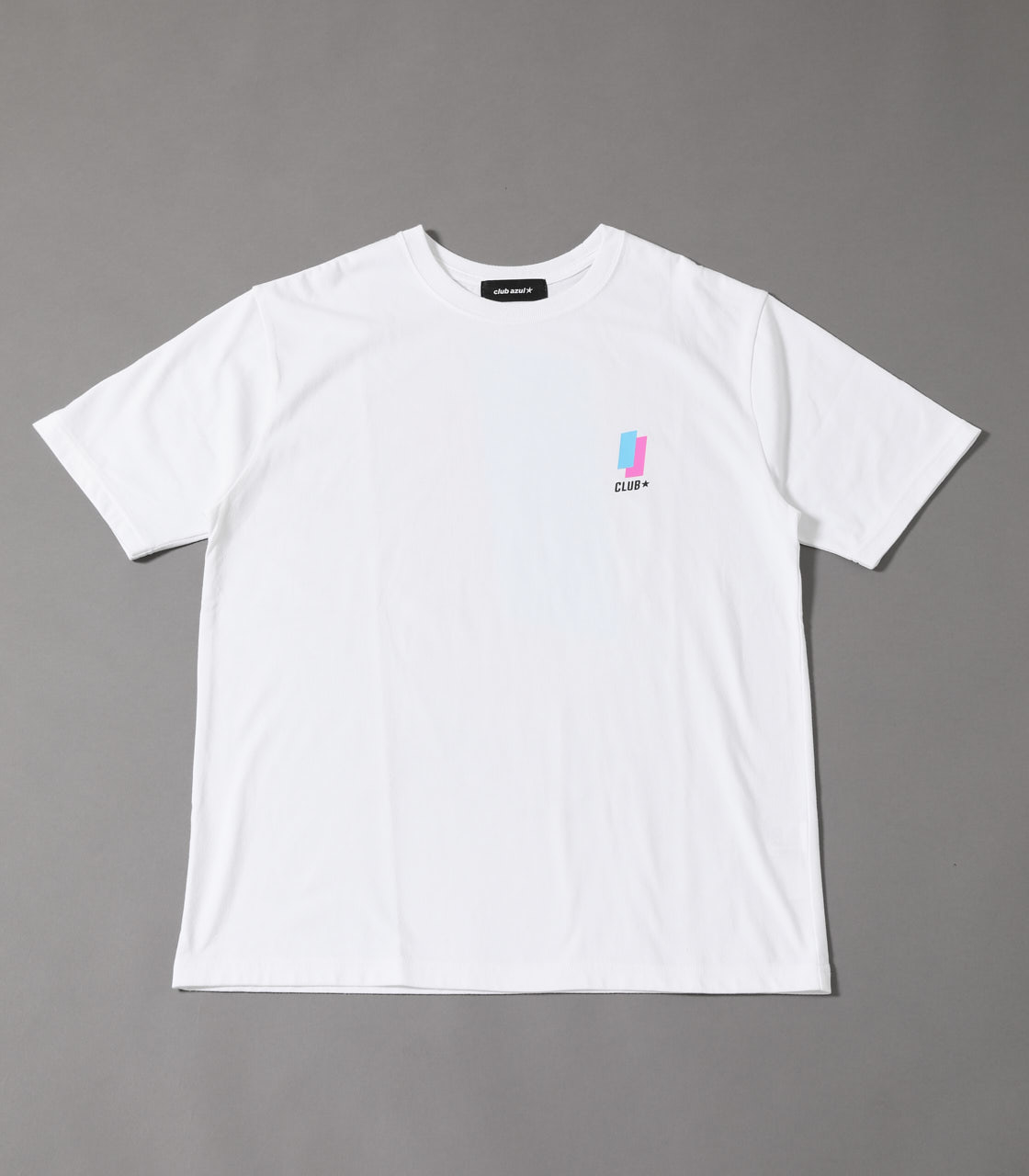 【AZUL BY MOUSSY】CLUBAZUL 90'S T-SHIRTS 詳細画像 WHT 1