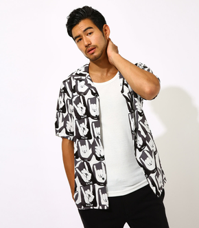 FUN GRAPHIC PATTERNED SHIRT