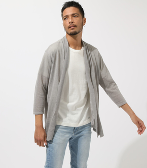 OPEN DRAPED SHAWL CARDIGAN