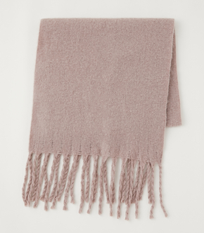 RING YARN SOFT STOLE/リングヤーンソフトストール【MOOK53掲載 90072】 詳細画像