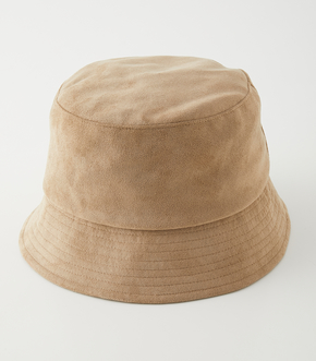 ECO SUEDE BUCKET HAT/エコスエードバケットハット