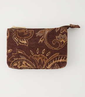 PAISLEY JACQUARD POUCH/ペイズリージャガードポーチ