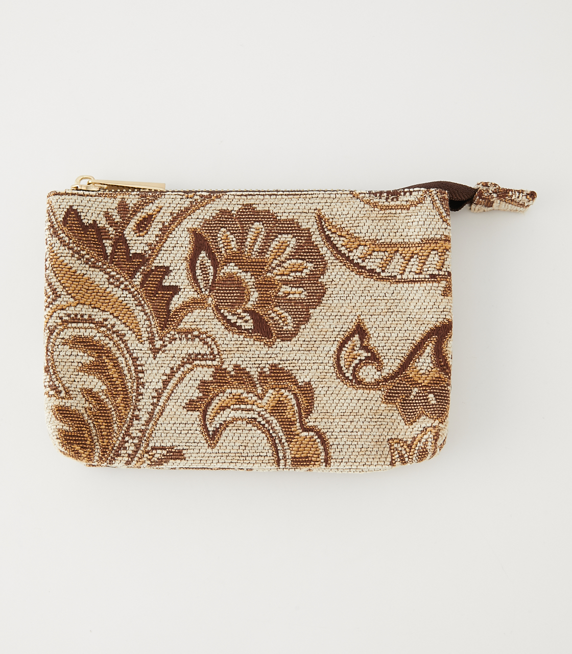 PAISLEY JACQUARD POUCH/ペイズリージャガードポーチ 詳細画像 柄BEG 1