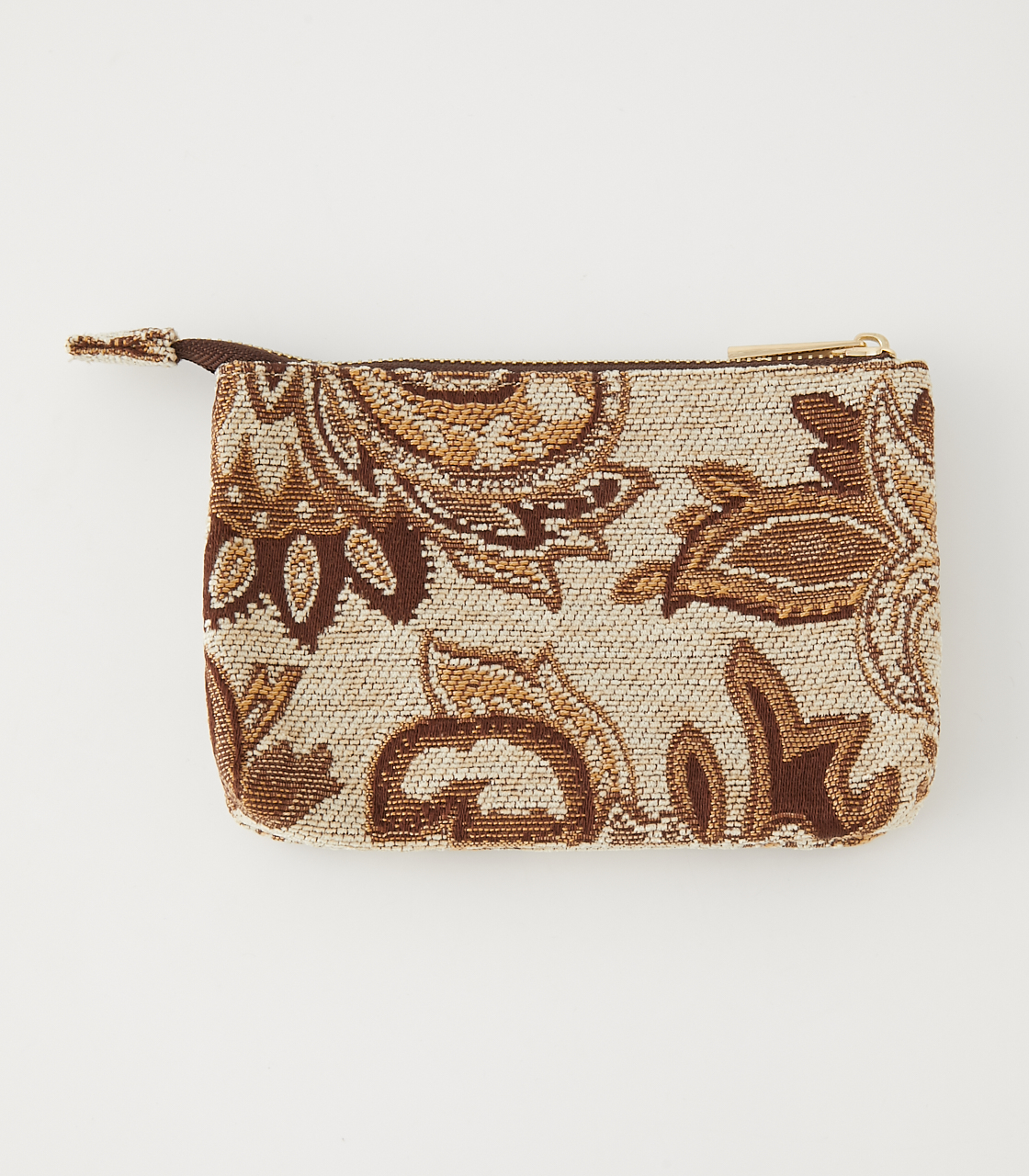 PAISLEY JACQUARD POUCH/ペイズリージャガードポーチ 詳細画像 柄BEG 3