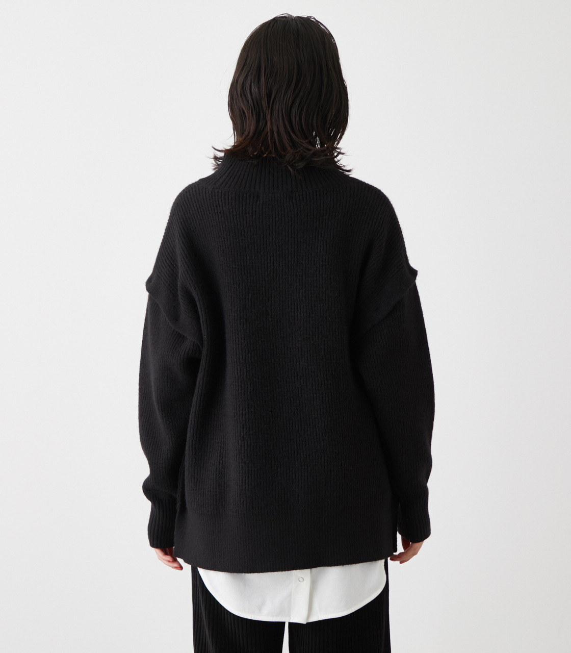 2WAY SLEEVE REMOVABLE TOPS/2WAYスリーブリムーバブルトップス 詳細画像 BLK 7