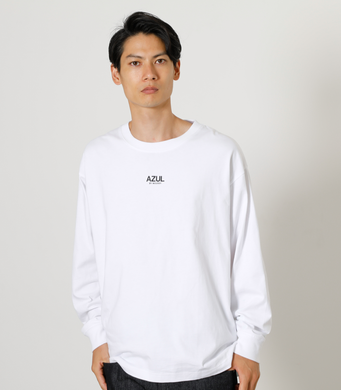 ONS SIMPLE LOGO TEE/ONSシンプルロゴTシャツ 詳細画像 WHT 11