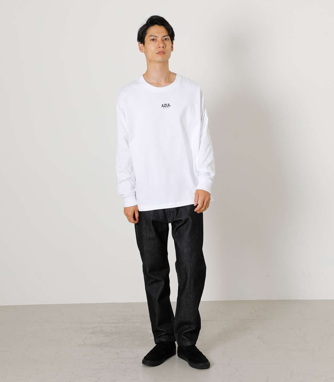 ONS SIMPLE LOGO TEE/ONSシンプルロゴTシャツ 詳細画像 WHT 13