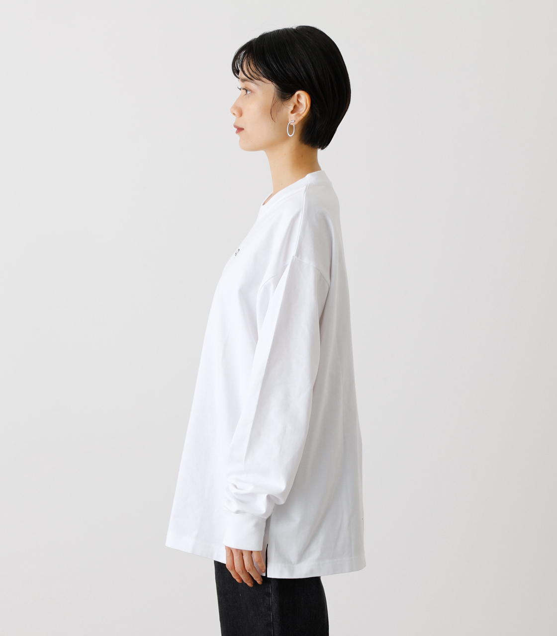 ONS SIMPLE LOGO TEE/ONSシンプルロゴTシャツ 詳細画像 WHT 6