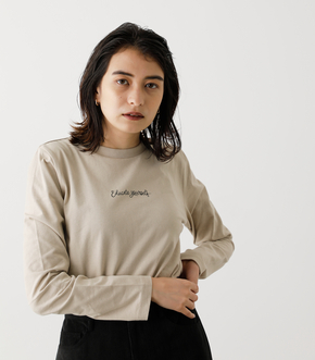 EDUCATE YOURSELF LONG SLEEVE/エデュケートユアセルフロングスリーブ