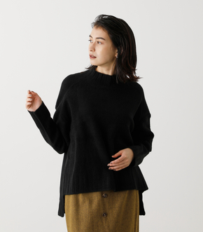 SOFT TOUCH HIGH NECK KNIT/ソフトタッチハイネックニット【MOOK53掲載 90024】