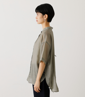 BACK RIBBON SHEER BLOUSE/バックリボンシアーブラウス 詳細画像