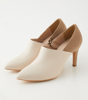 BACK CONTRAST PUMPS/バックコントラストパンプス