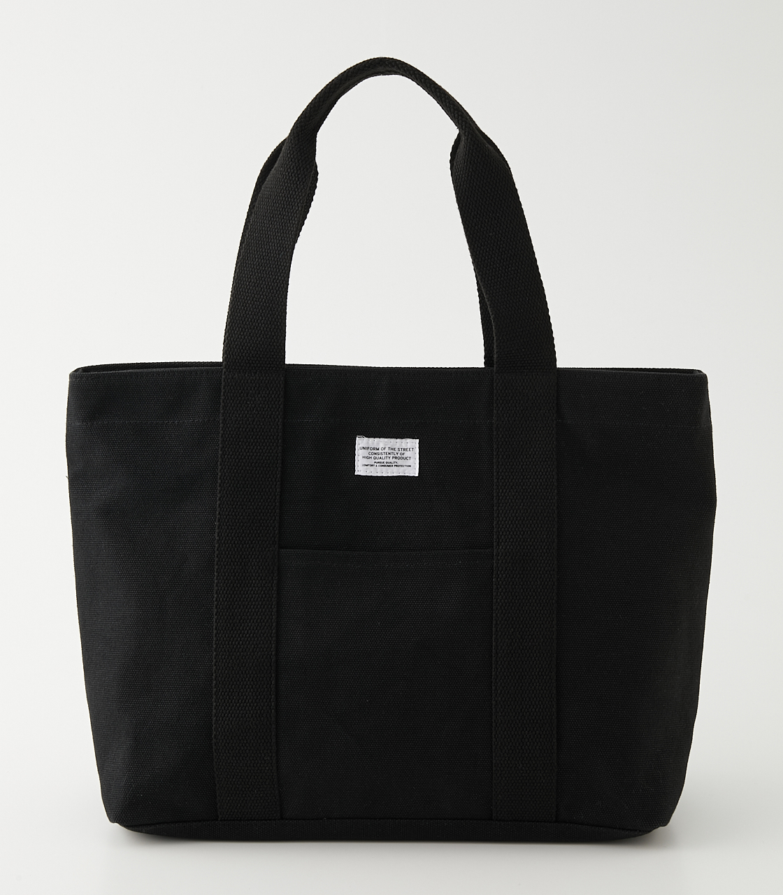 CANVAS TOTE BAG/キャンバストートバッグ 詳細画像 BLK 1