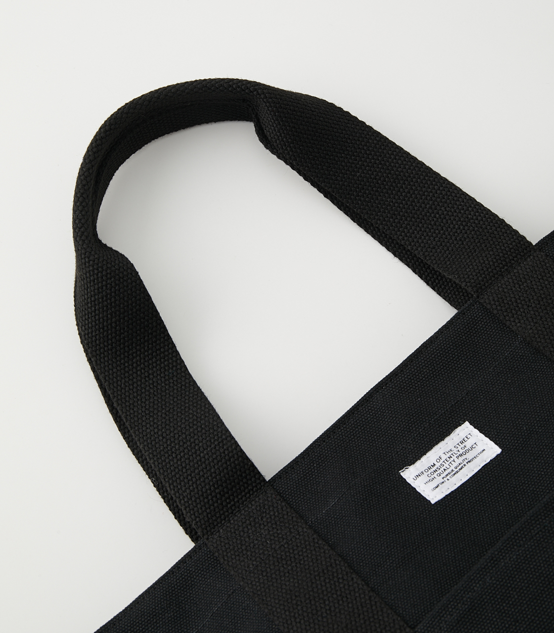 CANVAS TOTE BAG/キャンバストートバッグ 詳細画像 BLK 5