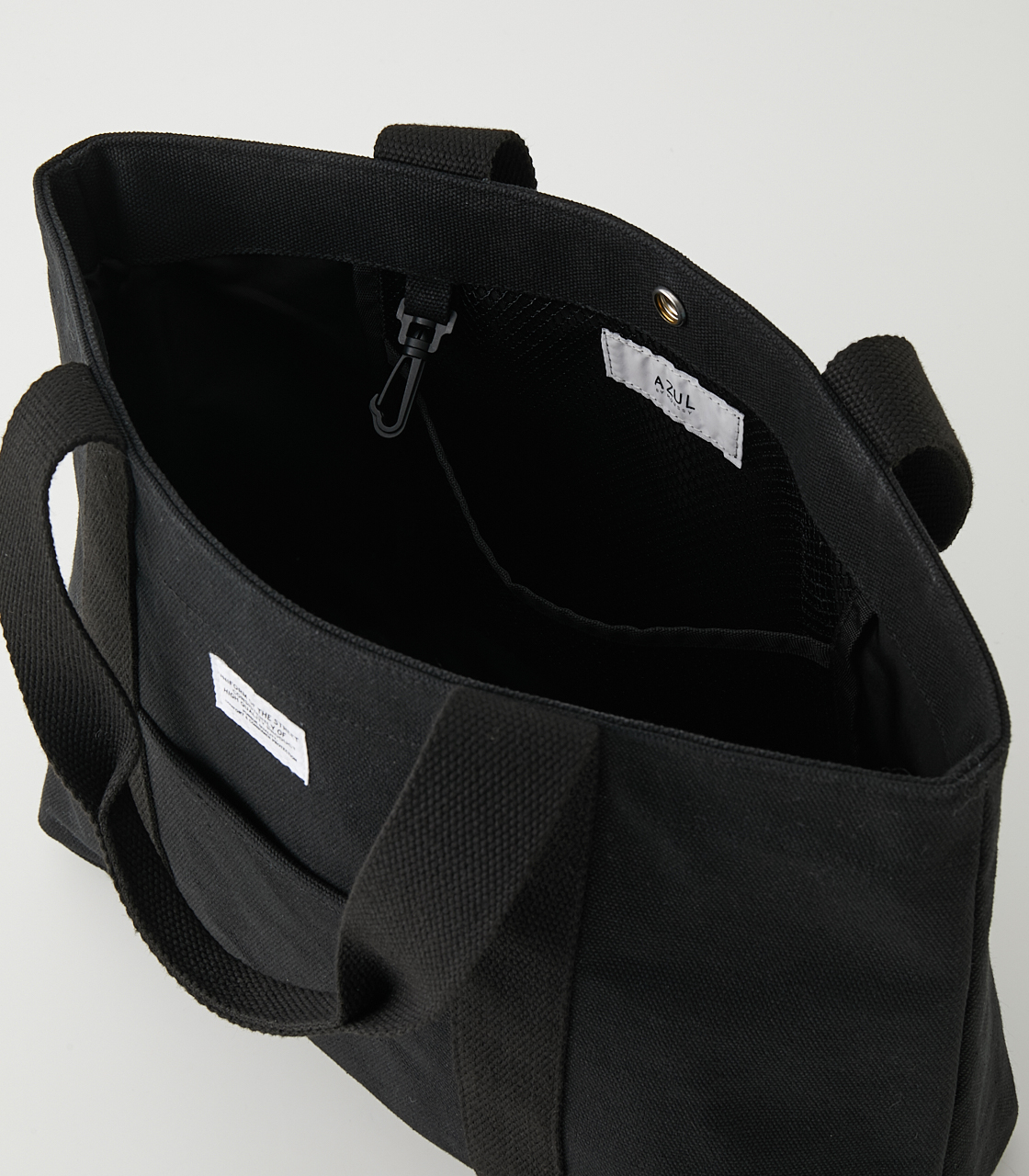 CANVAS TOTE BAG/キャンバストートバッグ 詳細画像 BLK 6