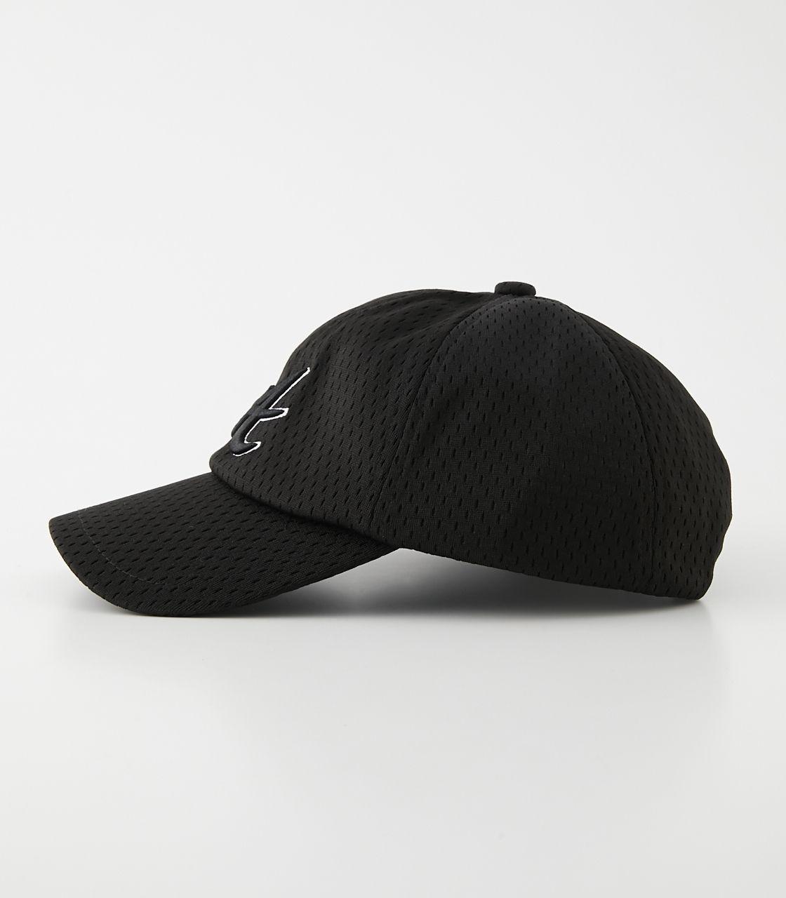 A LOGO ALL MESH CAP/アロゴオールメッシュキャップ 詳細画像 BLK 3