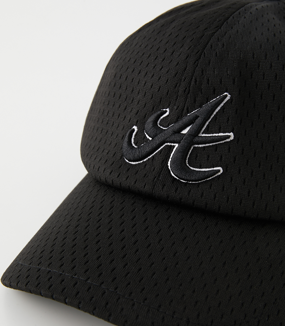 A LOGO ALL MESH CAP/アロゴオールメッシュキャップ 詳細画像 BLK 5