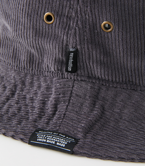 NEWHATTAN×AZUL CORDUROY HAT/NEWHATTAN×AZULコーデュロイハット 詳細画像