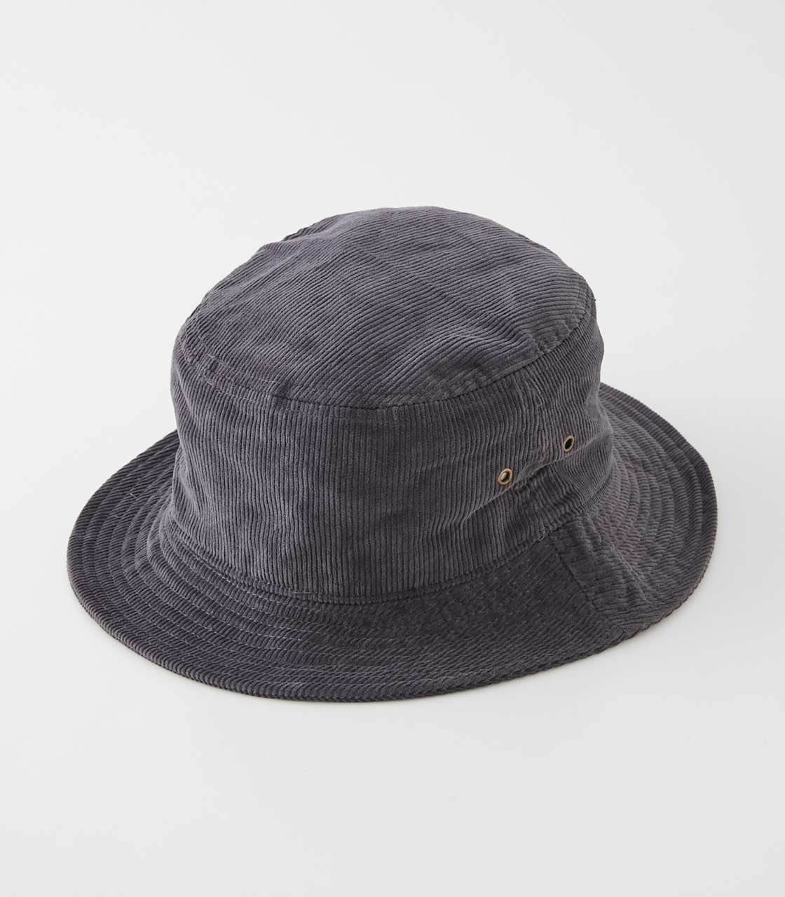 NEWHATTAN×AZUL CORDUROY HAT/NEWHATTAN×AZULコーデュロイハット 詳細画像 GRY 3