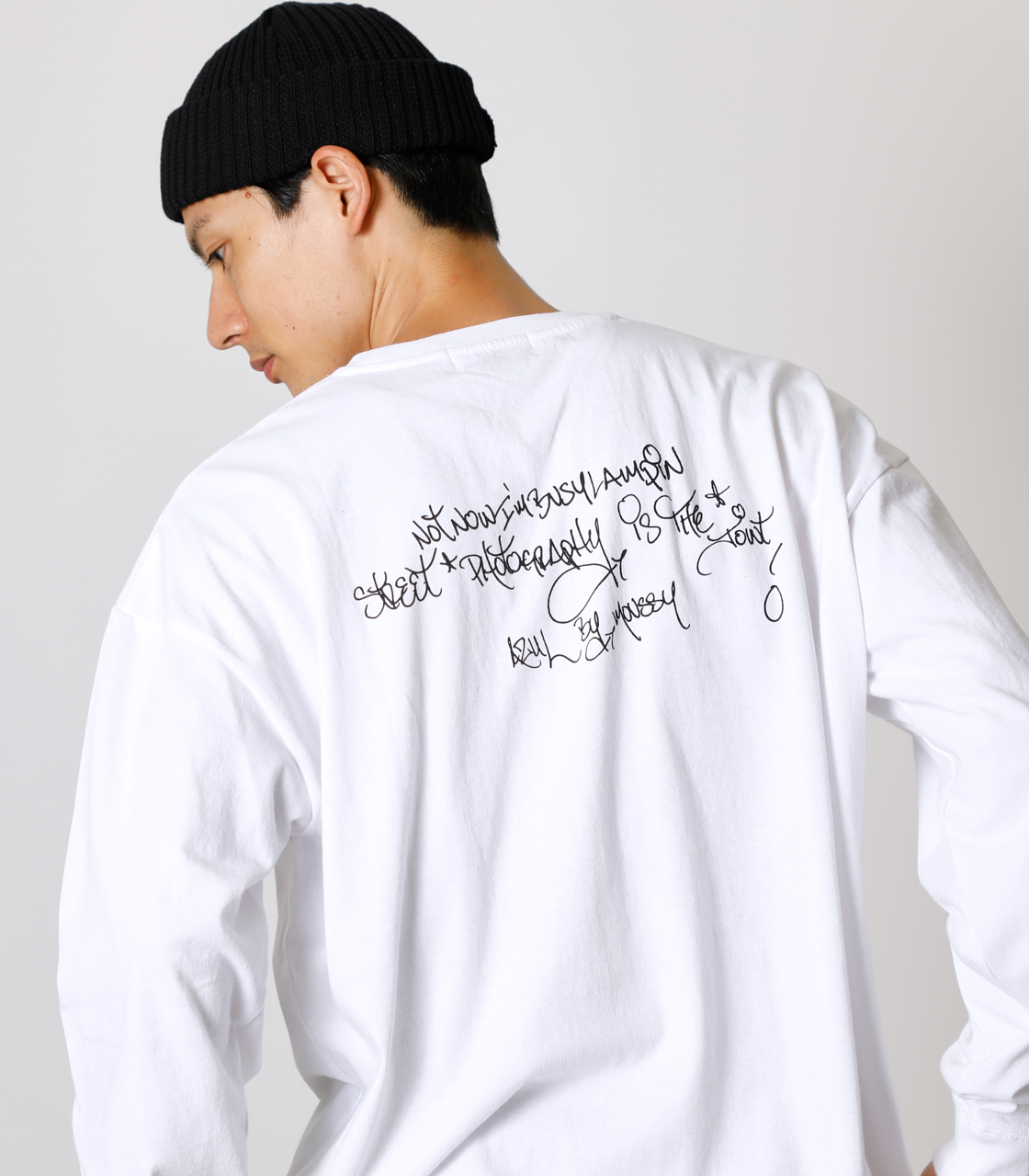 RICKY POWELL×AZUL PHOTO TEE Ⅲ/RICKY POWELL×AZULフォトTシャツⅢ 詳細画像 WHT 3