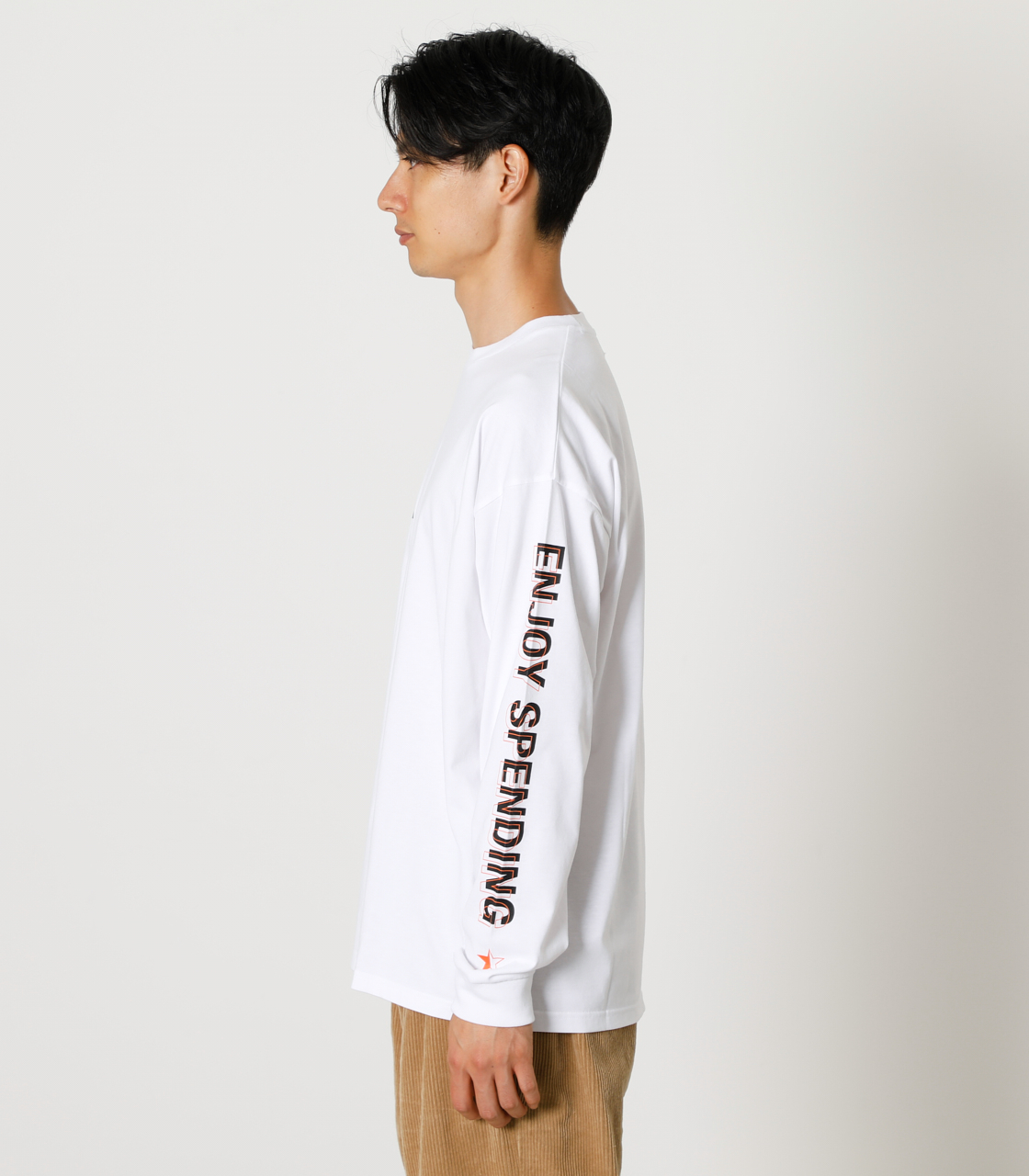 CARE FOR EACH OTHER PAIR TEE/ケアフォーイーチアザーペアTシャツ 詳細画像 WHT 6