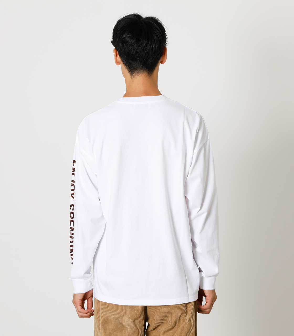 CARE FOR EACH OTHER PAIR TEE/ケアフォーイーチアザーペアTシャツ 詳細画像 WHT 7