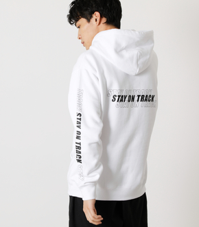 STAY ON TRACK HOODIES/ステイオントラックフーディ