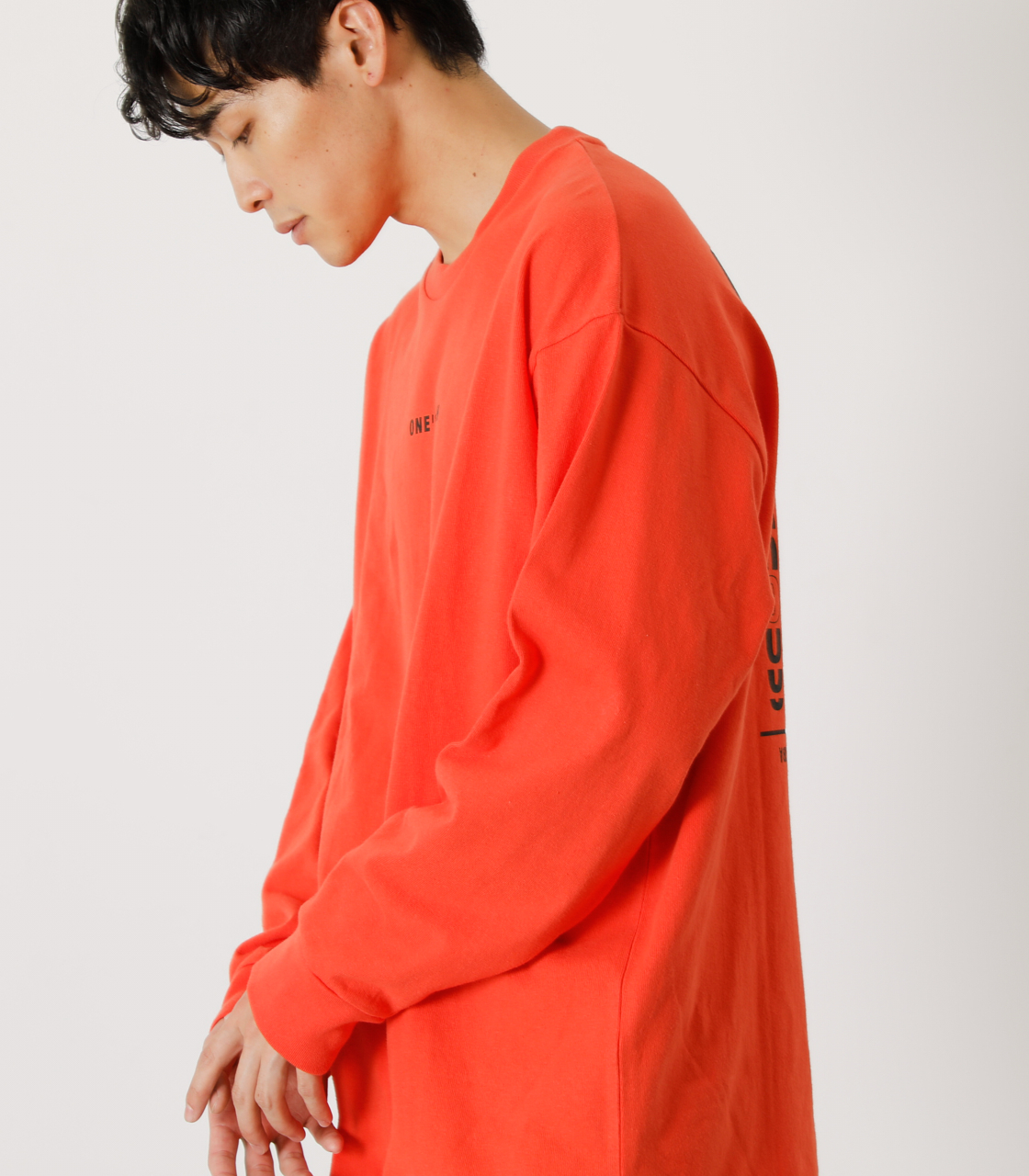 ONE'S HIGH LONG TEE/ワンズハイロングTシャツ 詳細画像 D/ORG 3