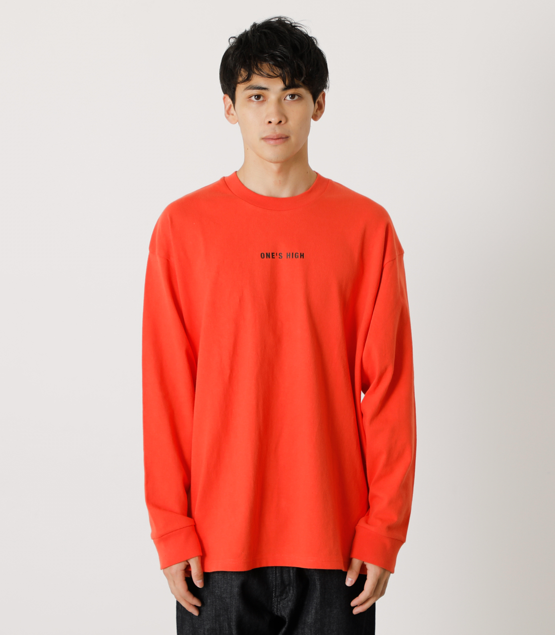 ONE'S HIGH LONG TEE/ワンズハイロングTシャツ 詳細画像 D/ORG 5