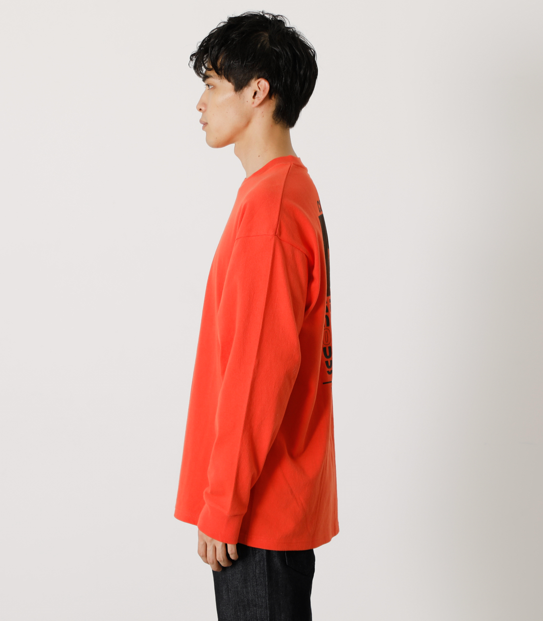 ONE'S HIGH LONG TEE/ワンズハイロングTシャツ 詳細画像 D/ORG 6
