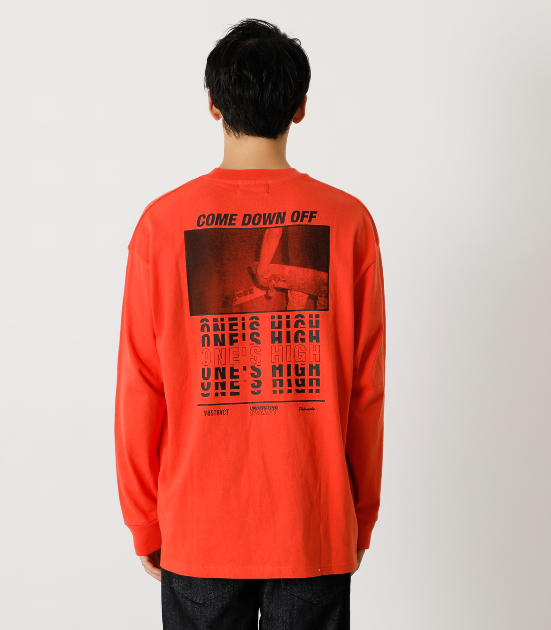 ONE'S HIGH LONG TEE/ワンズハイロングTシャツ 詳細画像 D/ORG 7