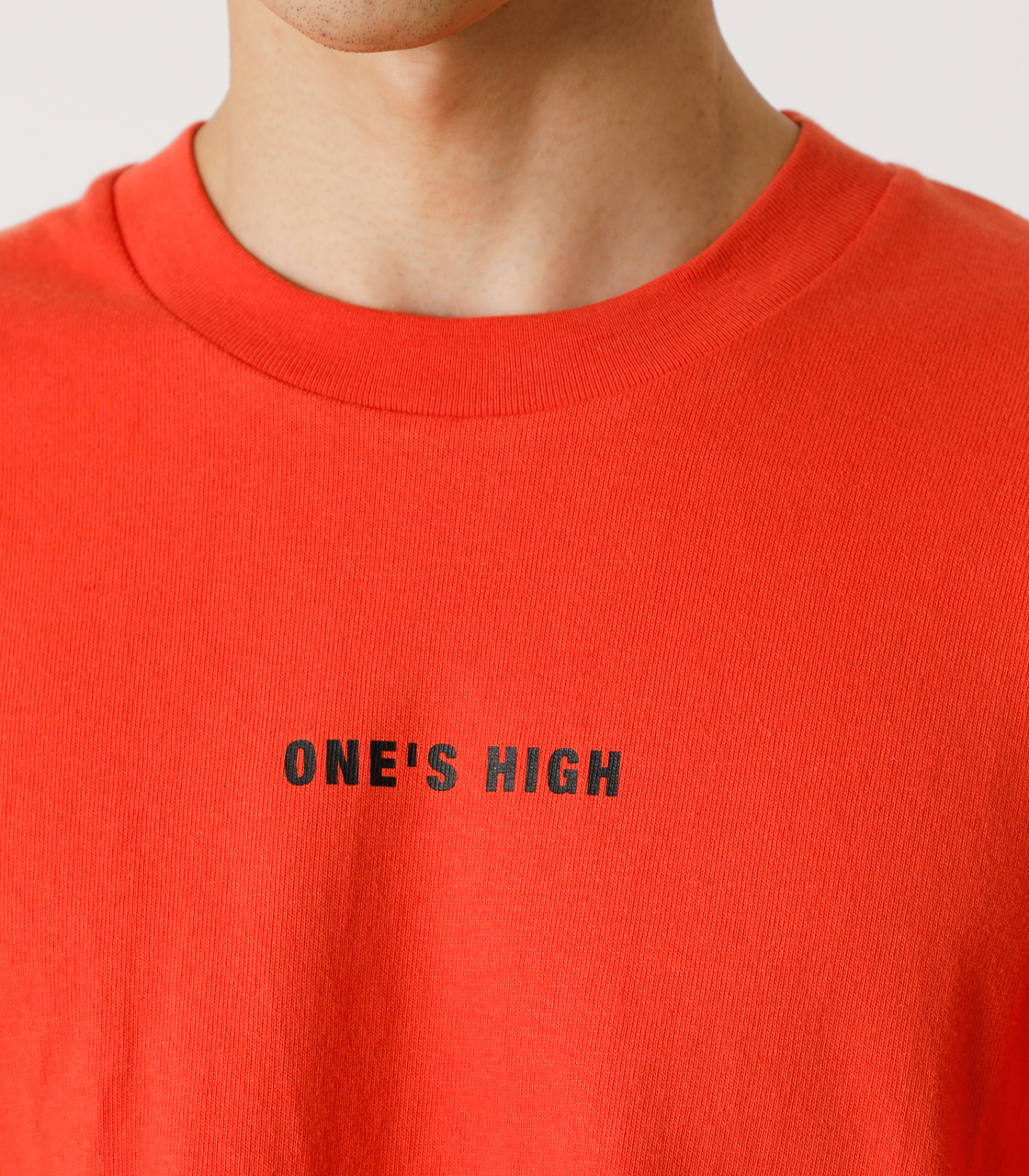 ONE'S HIGH LONG TEE/ワンズハイロングTシャツ 詳細画像 D/ORG 9