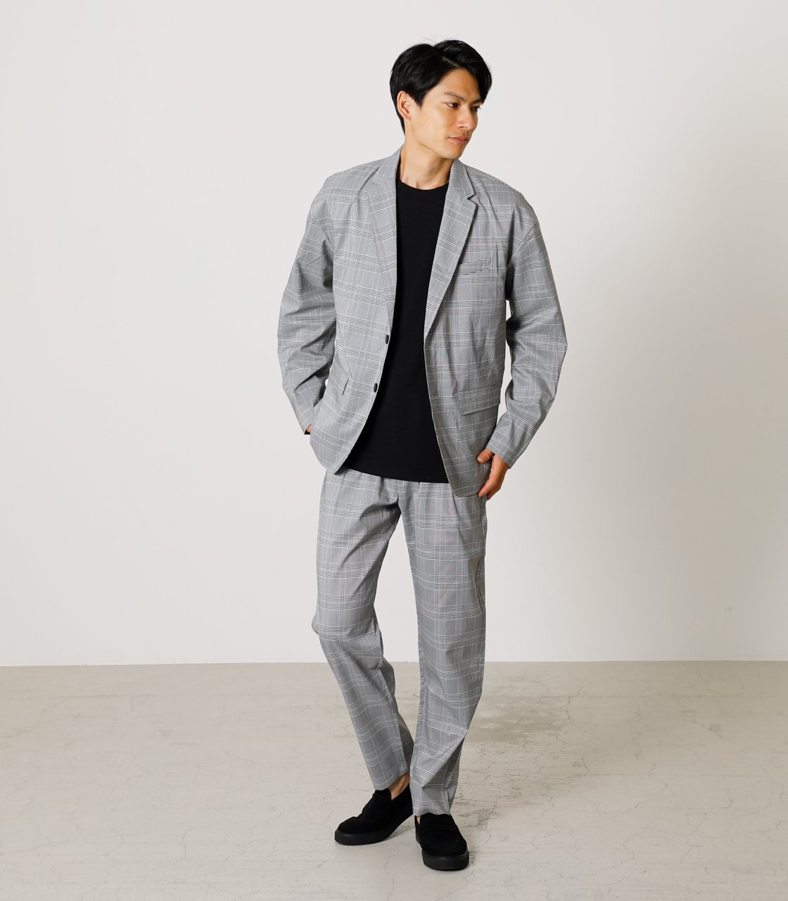 TR RELAX PANTS/TRリラックスパンツ 詳細画像 柄GRY 2