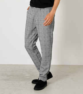 CHECK PATTERN KNIT PANTS/チェックパターンニットパンツ