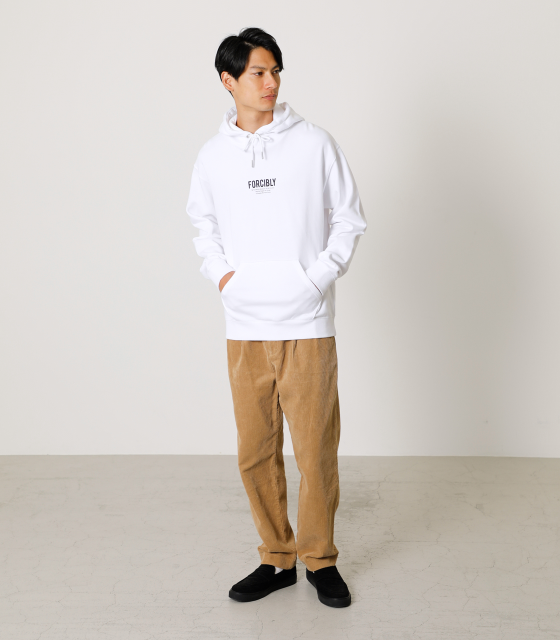FORCIBLY HOODIE/フォーシブリーフーディ 詳細画像 WHT 3