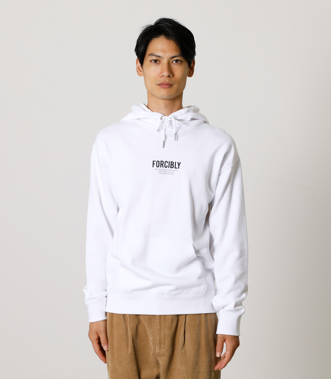 FORCIBLY HOODIE/フォーシブリーフーディ 詳細画像 WHT 4