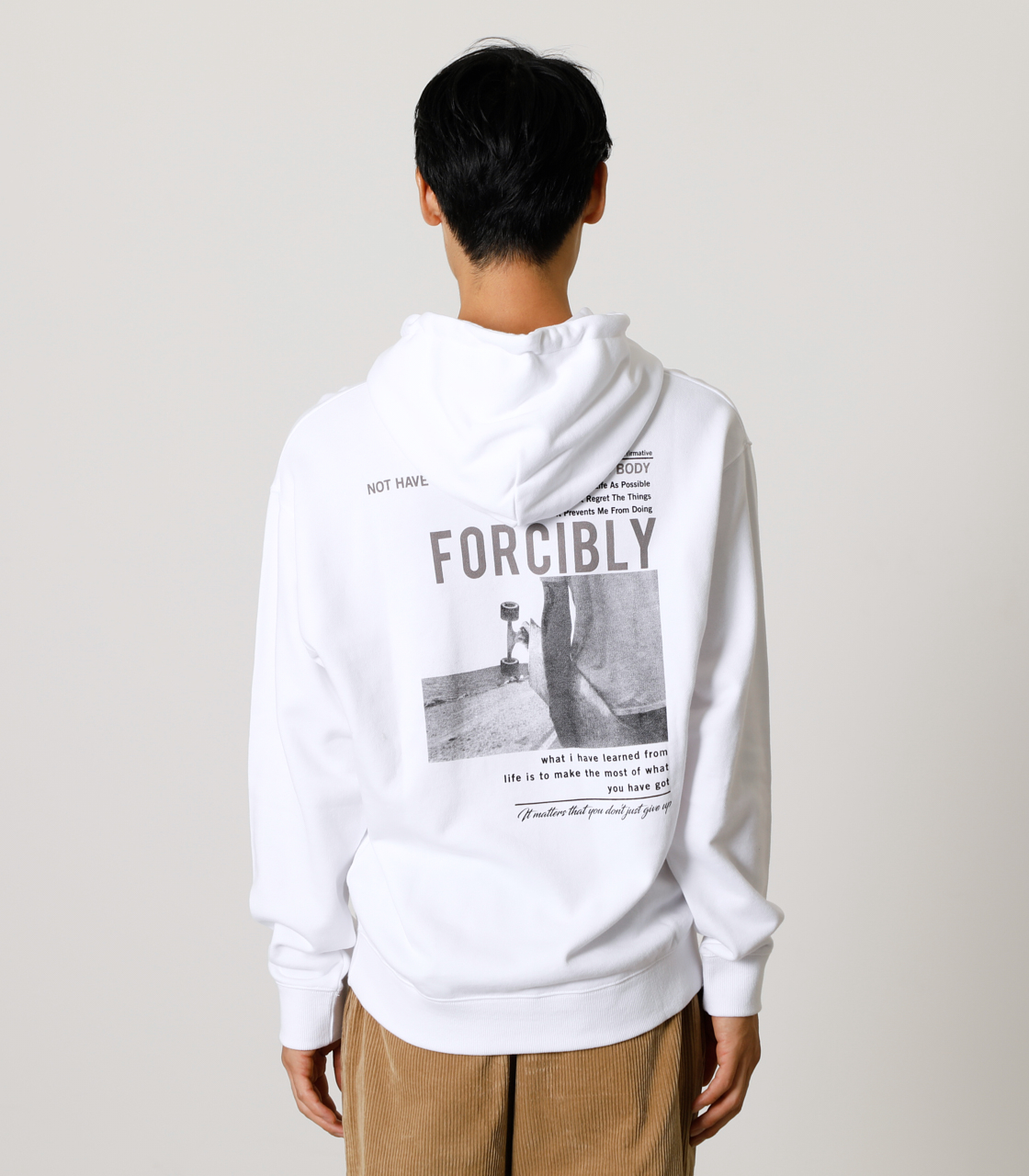 FORCIBLY HOODIE/フォーシブリーフーディ 詳細画像 WHT 6