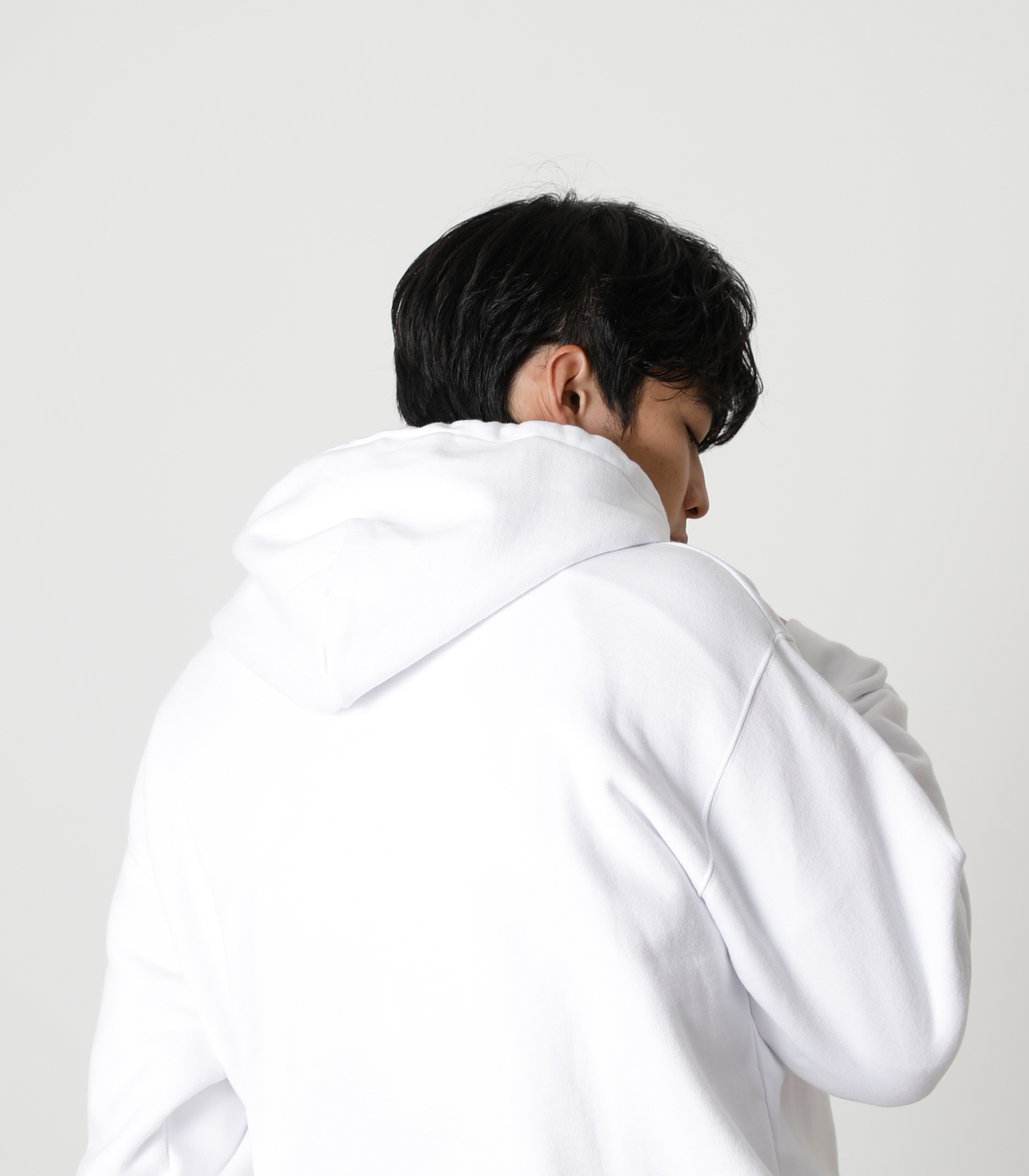 STAY IN POSITIVE HOODIE/ステイインポジティブフーディ 詳細画像 WHT 3
