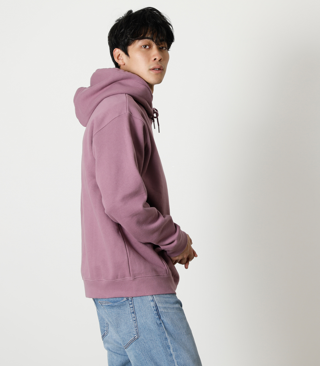 STAY IN POSITIVE HOODIE/ステイインポジティブフーディ 詳細画像 L/PUR 2