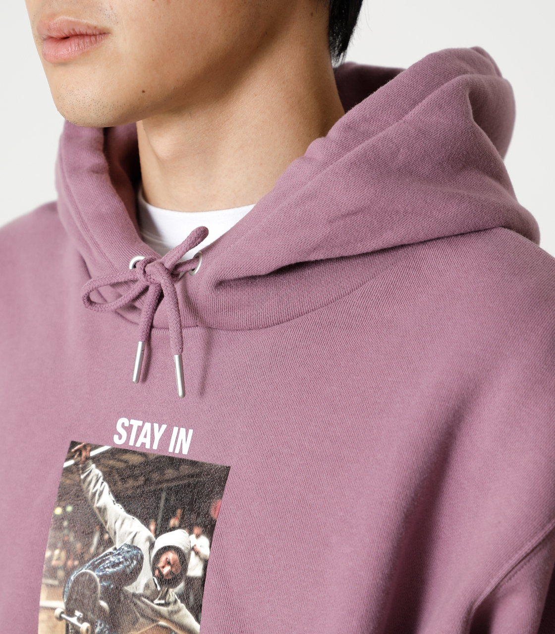 STAY IN POSITIVE HOODIE/ステイインポジティブフーディ 詳細画像 L/PUR 8