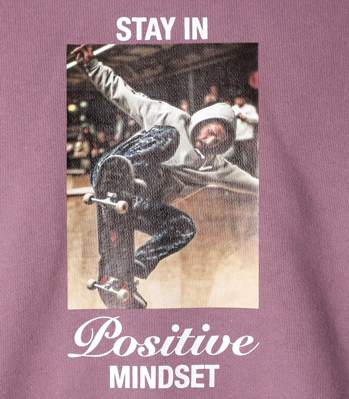 STAY IN POSITIVE HOODIE/ステイインポジティブフーディ 詳細画像 L/PUR 9